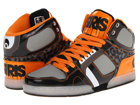 Adidasi Osiris - NYC83 - Black/Grey/Orange