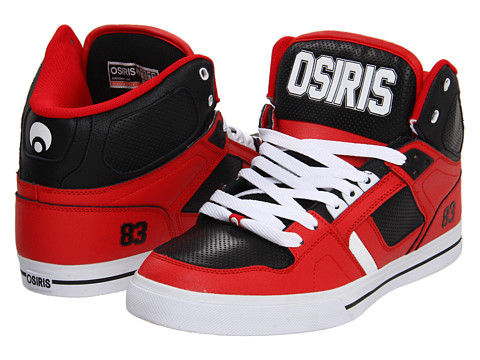 Adidasi Osiris - NYC83 VLC - Red/Black/White