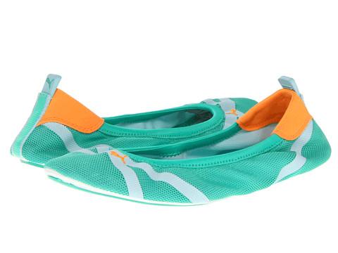 Balerini PUMA - Axel Ballet - Mint Leaf/Clearwater/Fluo Light Orange