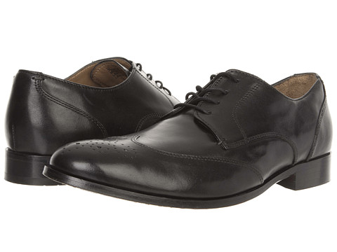 Pantofi Bostonian - Poydras - Black Leather