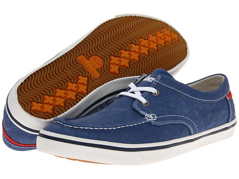 Pantofi Timberland - Earthkeepersî Hookset Camp Boat Oxford - Nautical Blue Canvas