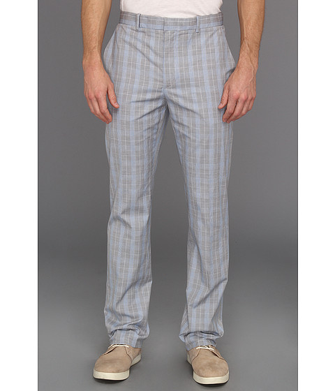 Pantaloni Perry Ellis - Slim Fit Fine Plaid Pant - Keystone