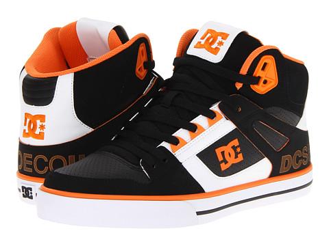 Adidasi DC - Spartan Hi WC SE - White/Black/Orange