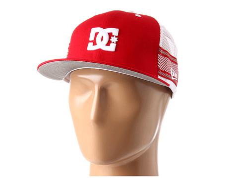 Sepci DC - Rob Dyrdek Lux Stripe Hat - Red