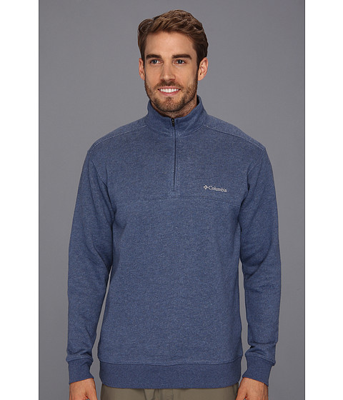 Bluze Columbia - Hart Mountain I Half Zip - Dark Mountain Heather