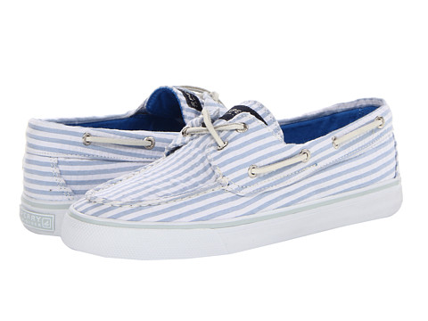 Pantofi Sperry Top-Sider - Bahama - Blue Seersucker