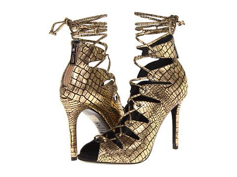 Pantofi Schutz - Slate - Ouro