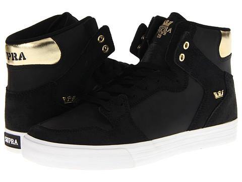 Adidasi Supra - Vaider - Black/Gold