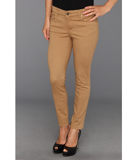 Blugi Anne Klein New York - Petite Super Stretch Twill Leo Skinny - Vicuna