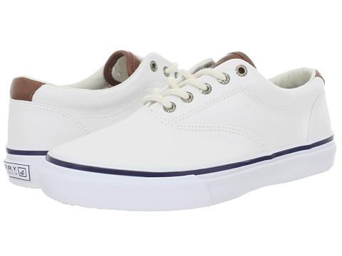 Adidasi Sperry Top-Sider - Striper CVO Canvas - White