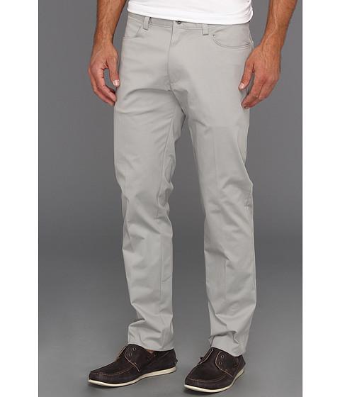 Pantaloni Calvin Klein - 4-Pocket Sateen Bowery Casual Pant - Drizzle