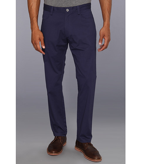 Pantaloni Calvin Klein - 4-Pocket Sateen Bowery Casual Pant - Atlantic Blue