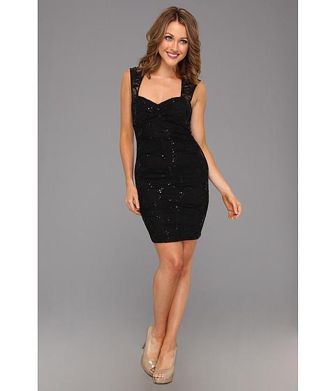 Rochii Type Z - Juniper Lace Dress - Black