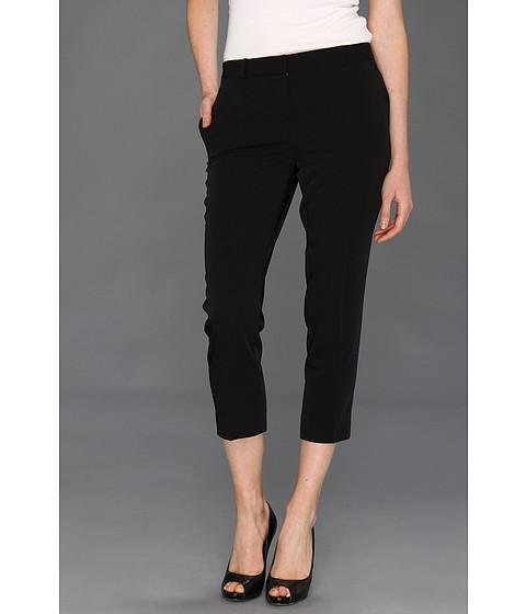 Pantaloni Anne Klein New York - Petite Tech Stretch Slim Leg Pant - Black