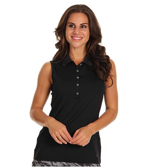 Bluze Nike - Dot Collar Sleeveless Top - Black