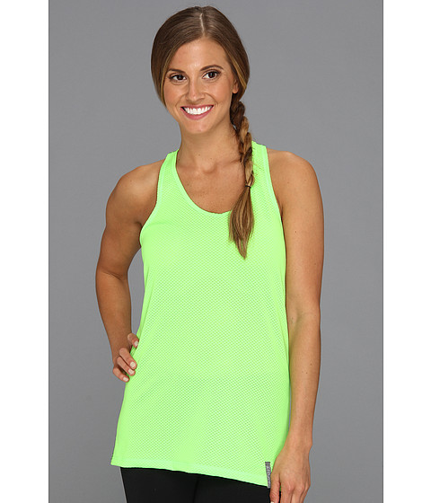 Tricouri Under Armour - UA Fly-By Stretch Mesh Tank - Poison/Silver/Reflective