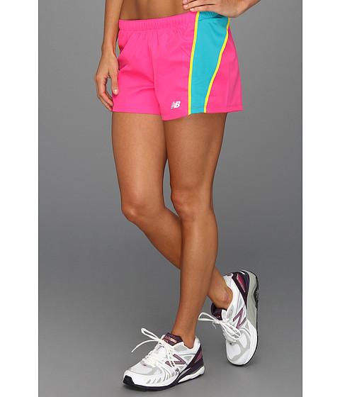 Pantaloni New Balance - NP Run Short - Pink Glo