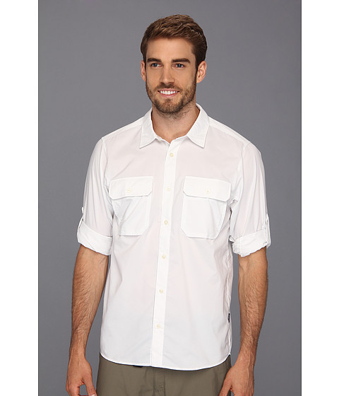 Camasi Patagonia - L/S Trailbend Shirt - White