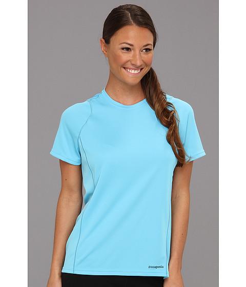 Tricouri Patagonia - S/S Fore Runner Shirt - Sky