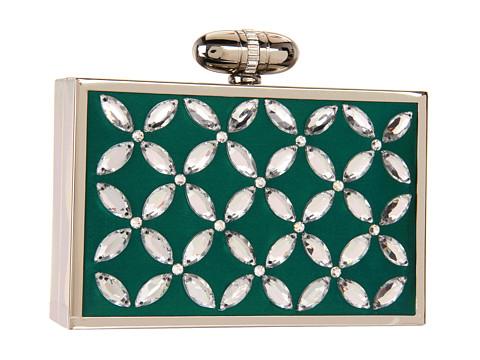 Posete Franchi Handbags - Elisa Clutch - Jade
