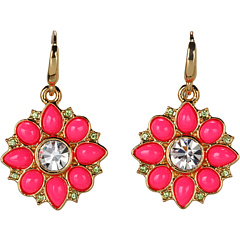 Bijuterii Juicy Couture Small Cabochon Earrings Neon Pink | mycloset.ro