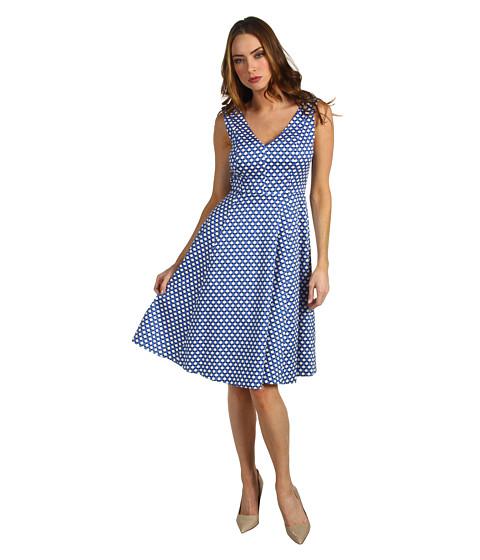 Rochii Kate Spade New York - Kelley Dress in Polka Dot - Royal Blue Benay Dot