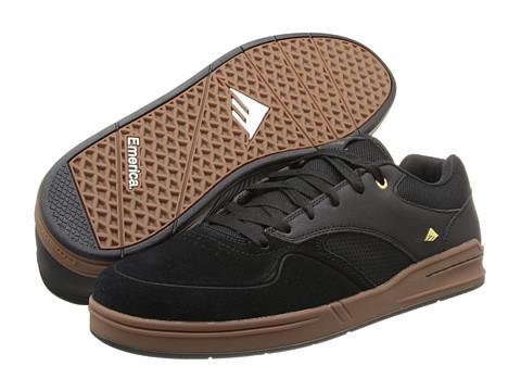 Adidasi Emerica - The Heritic - Black/Gum