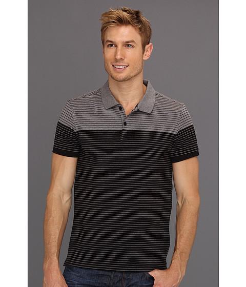Tricouri Calvin Klein - S/S 2 Button Liquid Jersey Polo - Black