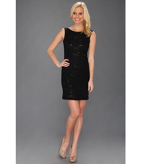 Rochii Type Z - Lilae Lace Dress - Black