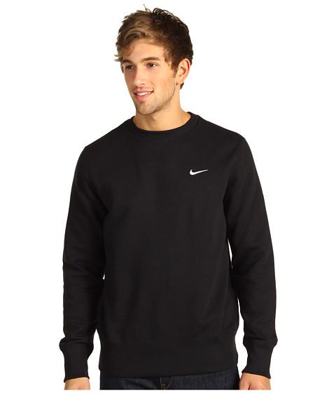 Bluze Nike - Classic Fleece Crew - Black/Dark Grey Heather/White