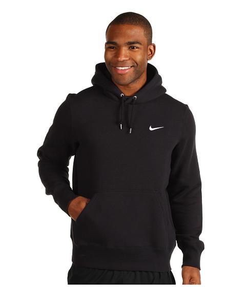 Bluze Nike - Classic Fleece PO Hoodie - Black/Dark Grey Heather/White