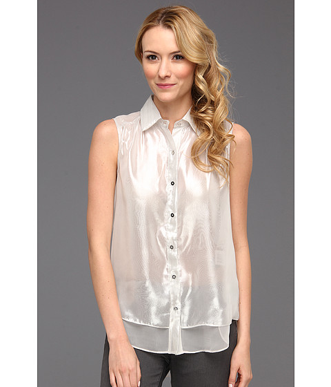 Bluze Kenneth Cole - Justine Top - Ivory/Silver