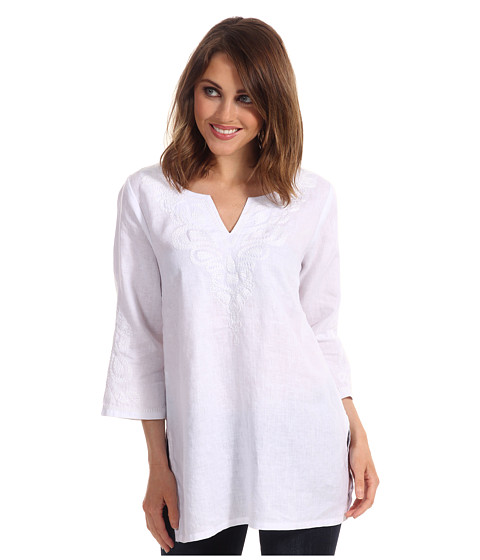 Bluze Tommy Bahama - Two Palms Peacock Tunic - White