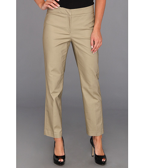 Pantaloni NIC+ZOE - Caliente The Perfect Pant - Front Zip Ankle - Coriander