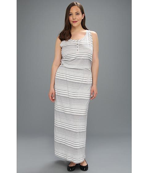 Rochii Vince Camuto - Plus Size Maxi Dress - Antique White