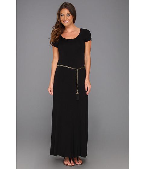 Rochii Calvin Klein - Solid T-Shirt Maxi Dress - Black
