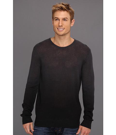 Tricouri Calvin Klein - 7GG Dip Dye Crew Sweater - Black