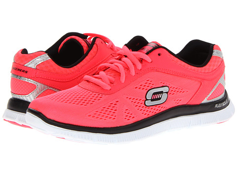 Adidasi SKECHERS - Love Your Style - Pink/Black