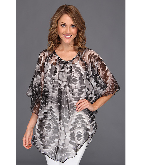 Rochii Steve Madden - Crystal Light Poncho Coverup - Black