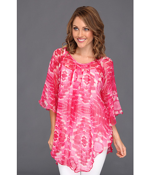 Rochii Steve Madden - Crystal Light Poncho Coverup - Hot Pink