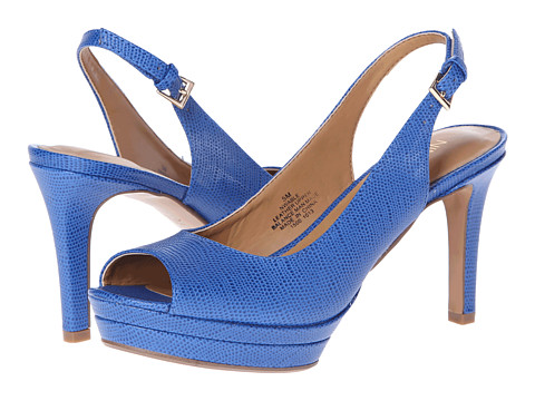 Pantofi Nine West - Able - Blue Leather