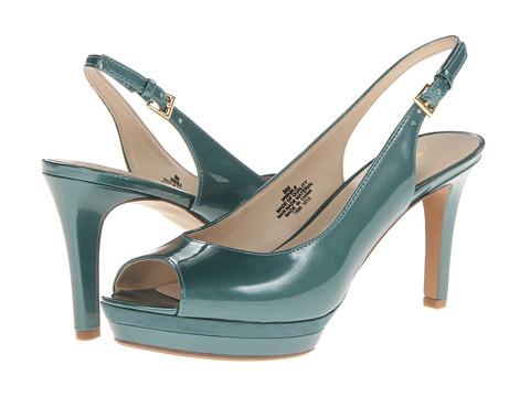 Pantofi Nine West - Able - Aqua Synthetic