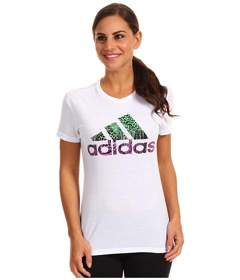 Tricouri adidas - Wild Logo Tee - White