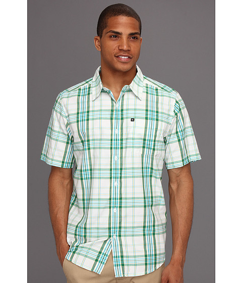Camasi Quiksilver - Uncle Pat S/S Button Up - Sage Green