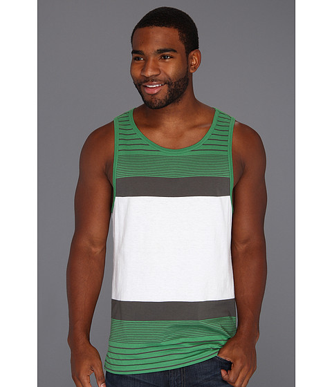 Tricouri Quiksilver - Crush Groove Tank Top - Verde