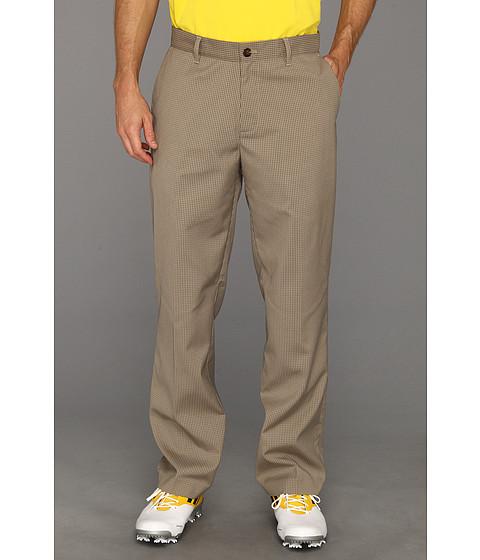 Pantaloni adidas - Tonal Mini Check Pant \13 - Khaki/Willow
