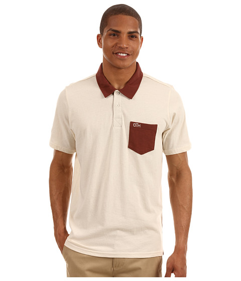 Tricouri DC - Off The Hook x DC Chomper Polo Shirt - Desert Storm