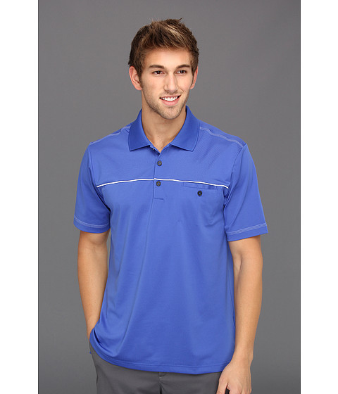 Tricouri adidas - ClimaLiteî Pocket Polo \13 - Blueberry/White