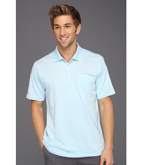 Tricouri adidas - ClimaLite® Pocket Polo \13 - Waterfall/White