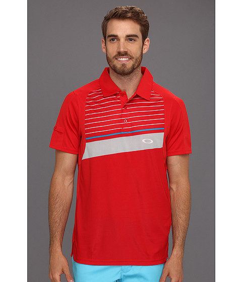 Tricouri Oakley - Cool Down Polo Shirt - Red Line